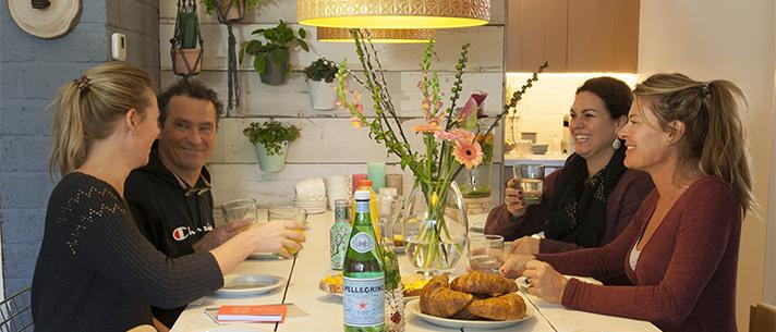 Studio van Hout workspaces lunch