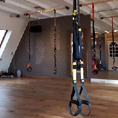 TRX studio van hout